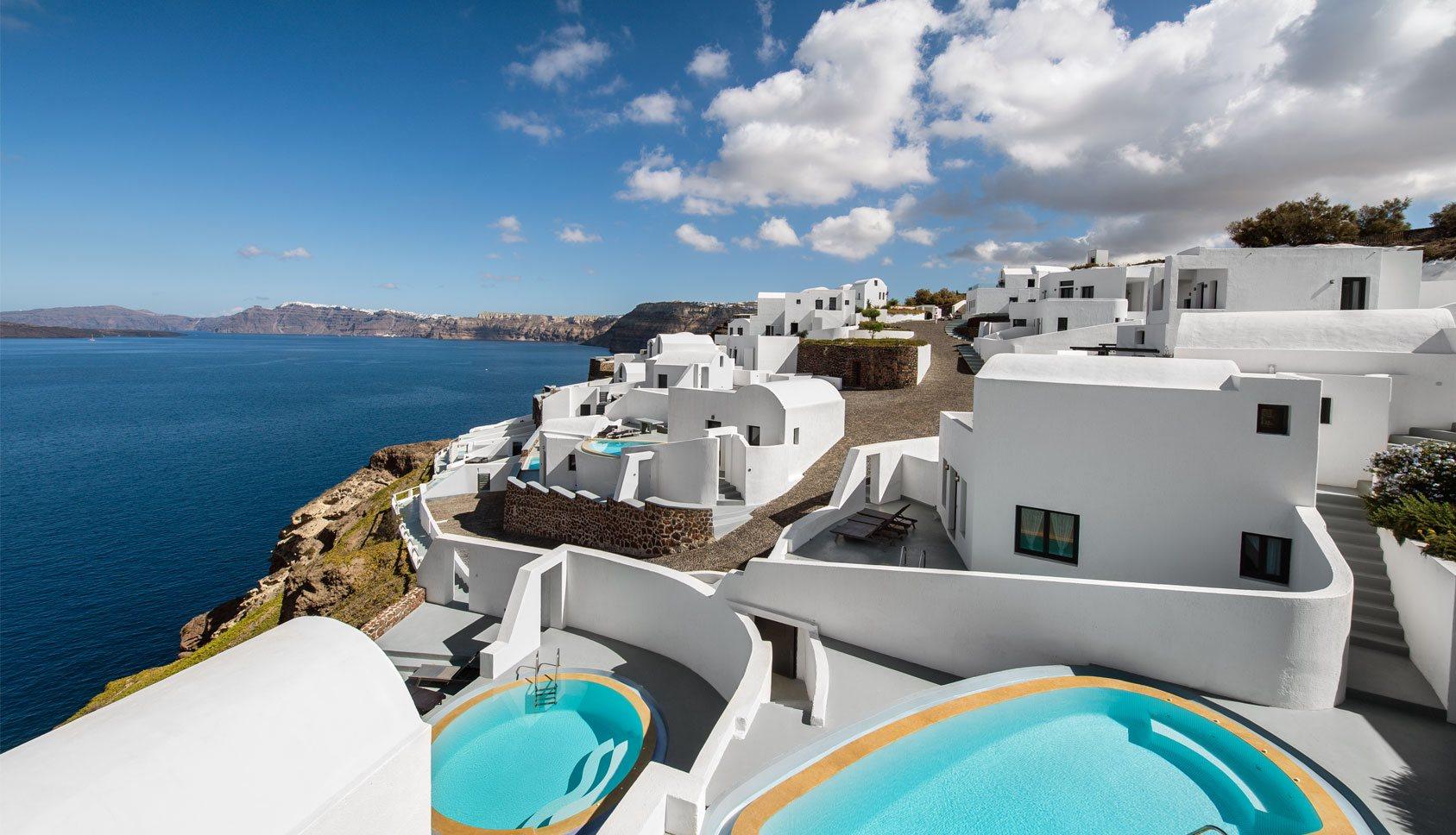Santorini hotel ambassador santorini luxury hotel villas